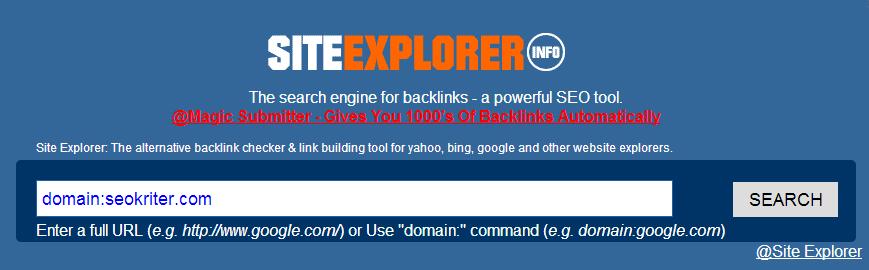 site-explorer-araci