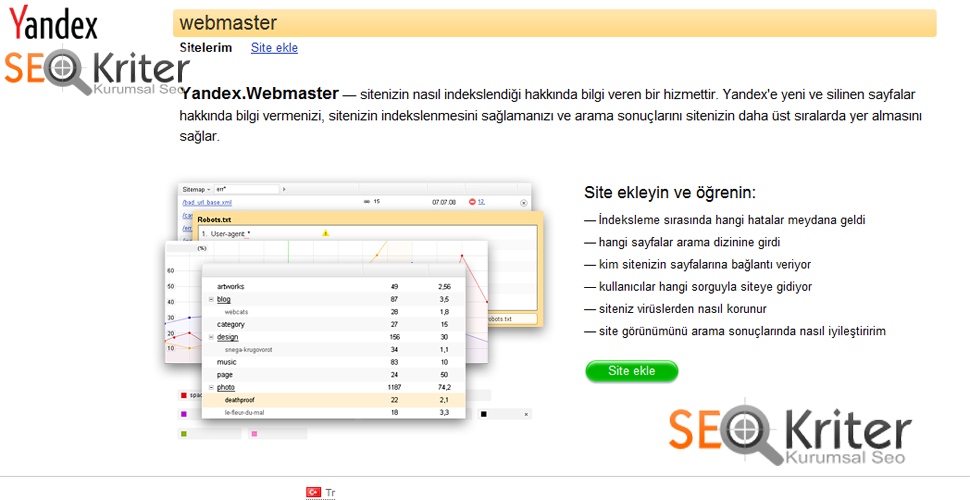 Yandex SEO Araçları